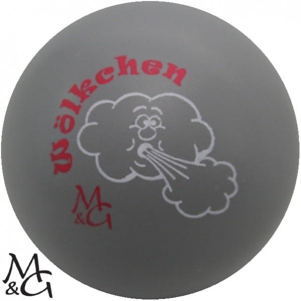 """M&G Wölkchen """"grau"""""""