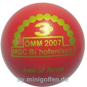 3D BoF ÖMM 2007 MGC Bìschofshofen/ Senioren