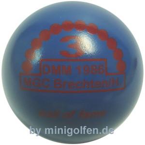 3D BoF DMM 1986 MGC Brechten/ Herren