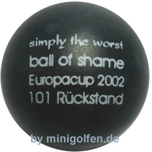 mg simply the worst - ball of shame - EC 2002