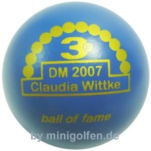 3D BoF DM 2007 Claudia Wittke