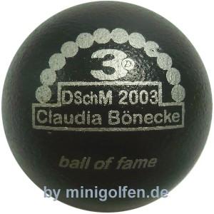 3D BoF DSchM 2003 Claudia Bönecke