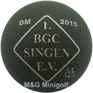 M&G DM 2015 1. BGC Singen