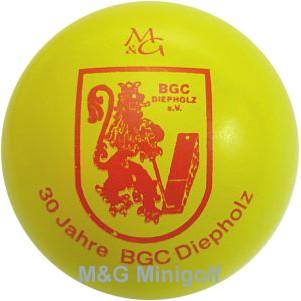 M&G 30 Jahre BGC Diepholz
