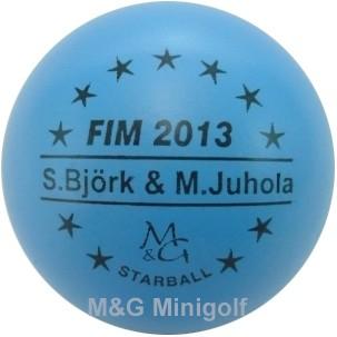 M&G Starball FIM 2013 Seija Björk & Mirva Juhola
