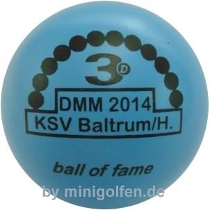 3D Bof DMM 2014 KSV Baltrum/H