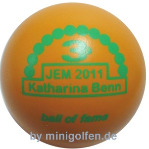 3D BoF JEM 2011 Katharina Benn