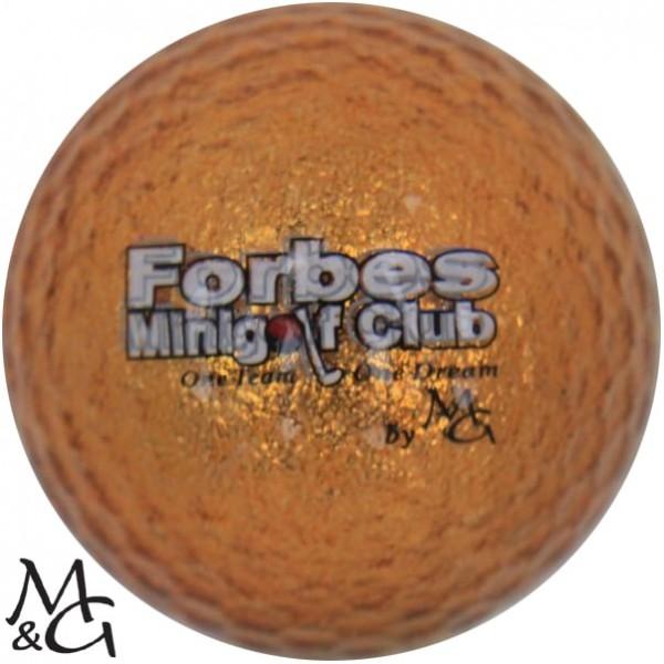 M&G Forbes Minigolf Club - one team, one dream