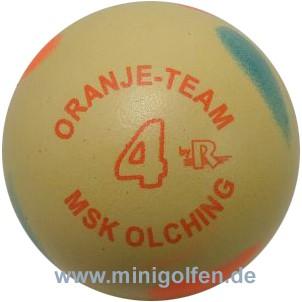 """Reisinger Oranje Team """"4"""" MSK Olching"""