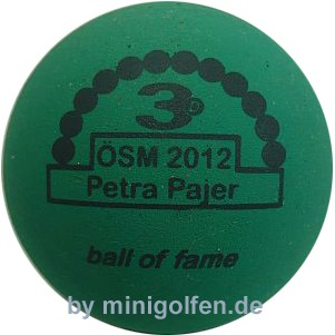 3D BoF ÖSM 2012 Petra Pajer