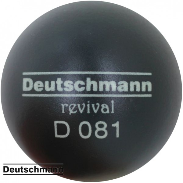 Deutschmann 081 revival