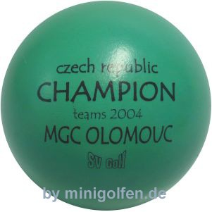 SV Czech CHAMPION Teams MGC Olomouc 2004