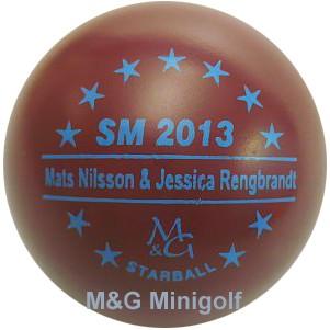 M&G Starball SwM 2013 Mats Nilsson & Jessica Rengbrandt