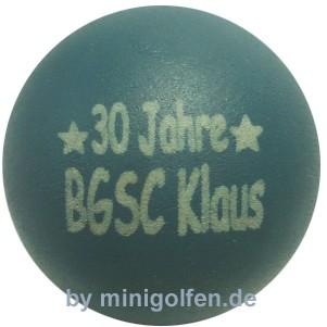 mg 30 Jahre BGC Klaus
