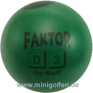 Ruff Faktor D3