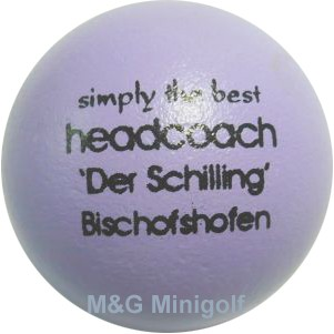 mg simply the best - heachcoach der Schilling