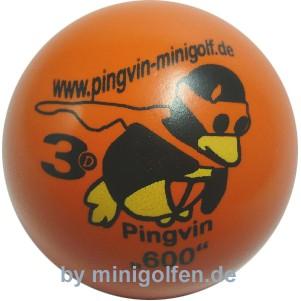 3D Pingvin 600