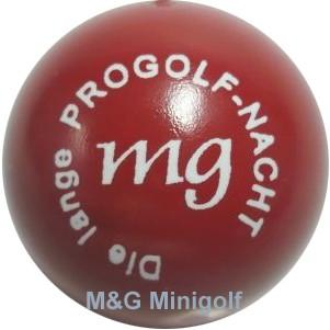 "mg Die lange Progolf- Nacht ""rot"""