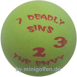 "3D 7 deadly sins #2 ""the Envy"""