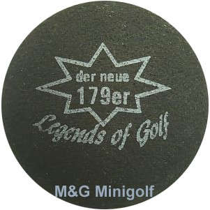 mg Legends of Golf - der neue 179er