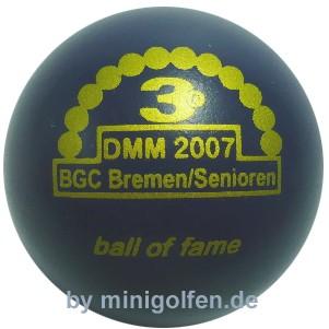 3D BoF DMM 2007 BGC Bremen/ Senioren