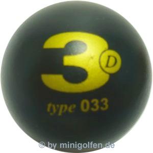 3D type 033 M