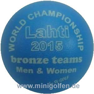 SV Lahti 2015 bronze teams Men & Women