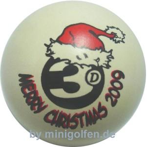 3D Merry Christmas 2009