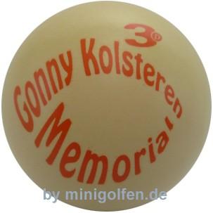 3D Gonny Kolsteren Memorial