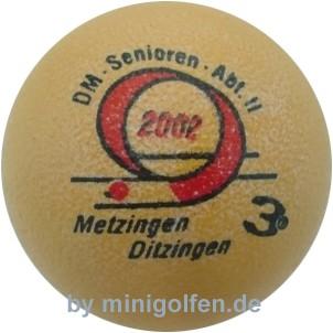 3D DM Senioren Abtl II Metzingen/Ditzingen