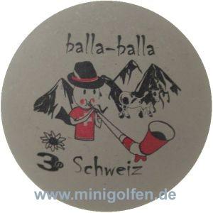 3D Balla Balla Schweiz