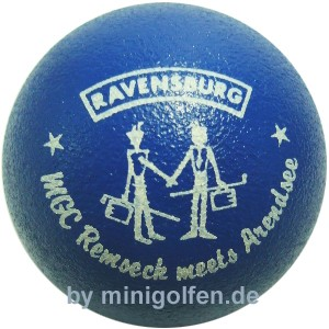 Ravensburg MGC Remseck meets Arentsee