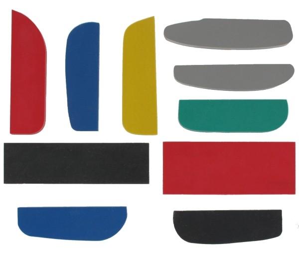 Formgummis & Platten für Minigolfschläger