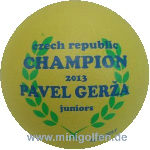 SV Czech Champion juniors 2013 Pavel Gerža